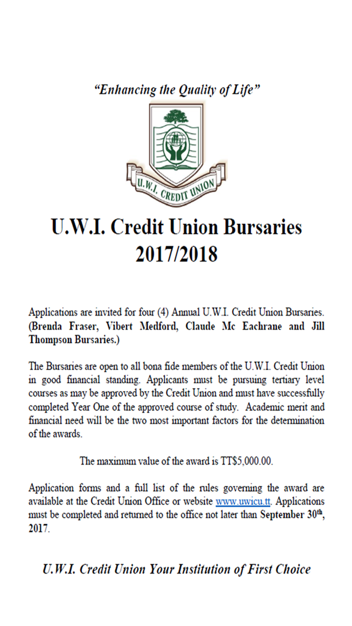 UWICU'S CHRISTMAS LOAN SALE 2017 | UWI Credit Union